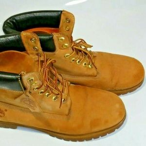 Timberland Boots 6 Inch Premium Wheat Nubuck 10061